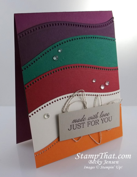 Stampin' Up! Curvy Dies