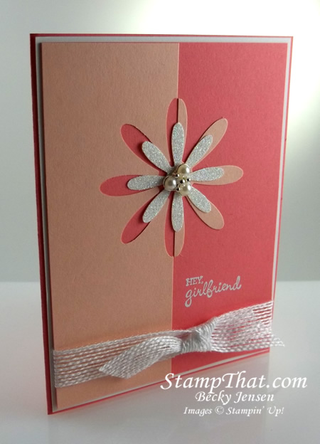 Daisy Punch Handmade Card