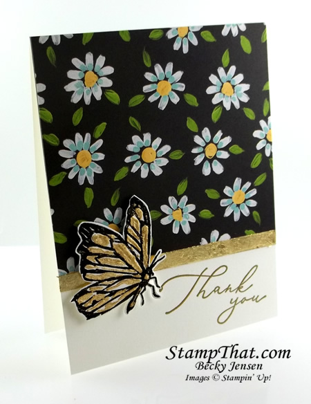 Stampin' Up! Gilded Leafing