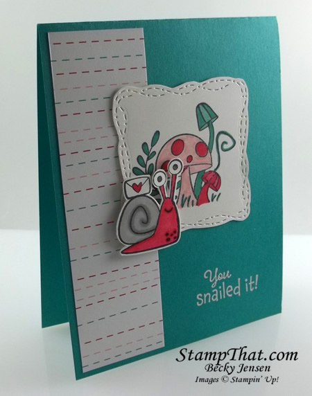 Stampin' Up! Snailed It!