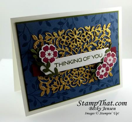Vine Design stamp set
