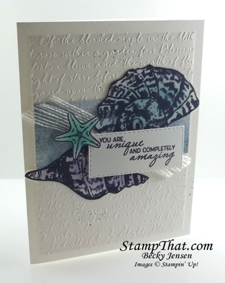 Seashell Stamp Set