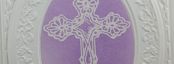 Easter Blessing Handmade Card