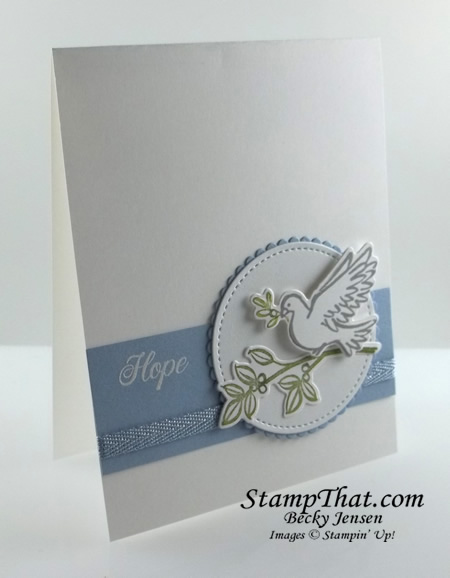 Dove of Hope Card