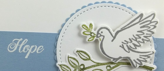 Dove of Hope Inspirational Card