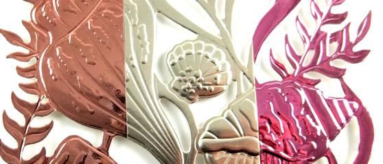 Seashells 3D Embossing Folder Card