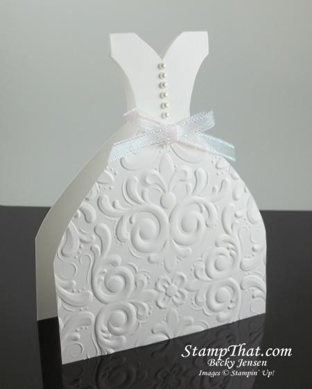 Bridal Dress Card