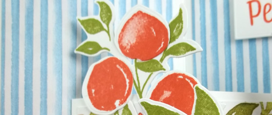 Sweet as a Peach Stamp Set