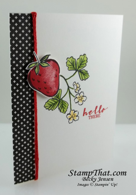 Sweet Strawberry Stampin' Up!