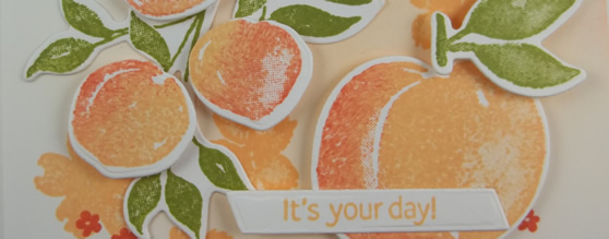 Sweet as a Peach – It's Your Day