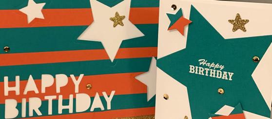 Birthday Card & Coordinating Gift Bag