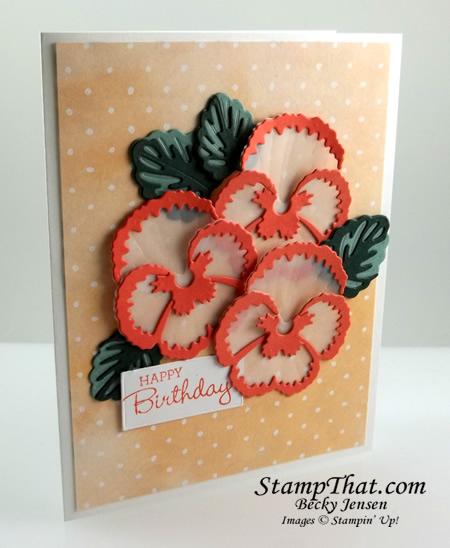 Pansy Patch stamp set