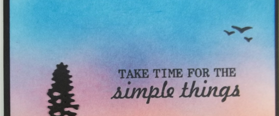 Take Time for the Simple Things