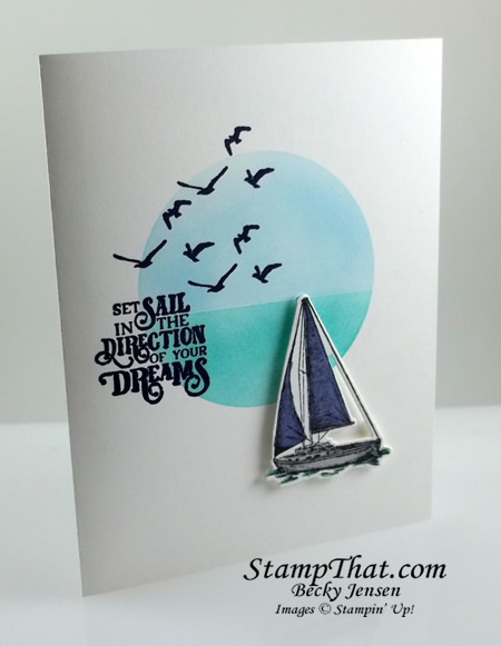 Stampin' Up Smooth Sailing stamp set