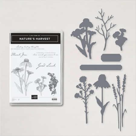 Nature's Harvest stamp set