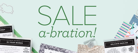 Don't Forget About Sale-A-Bration!