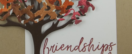 Super Simple Beauty of Friendship Card