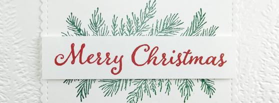 Evergreen Elegance Christmas Stamp Set