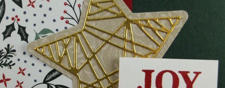 Christmas Trimmings Handmade Card
